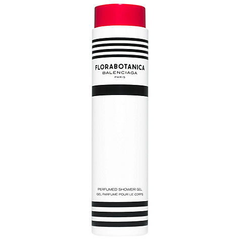 Buy Balenciaga Florabotanica Shower Gel, 200ml Online at johnlewis.com