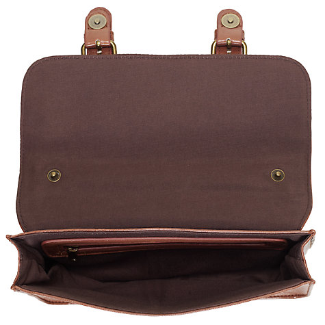 Buy John Lewis Girl Satchel, Tan Online at johnlewis.com