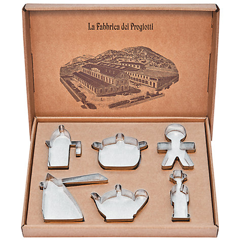 Buy Alessi Progiotti Cookie Cutters Online at johnlewis.com