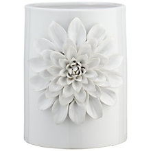 Buy Brissi Large Dahlia Vase, White Online at johnlewis.com
