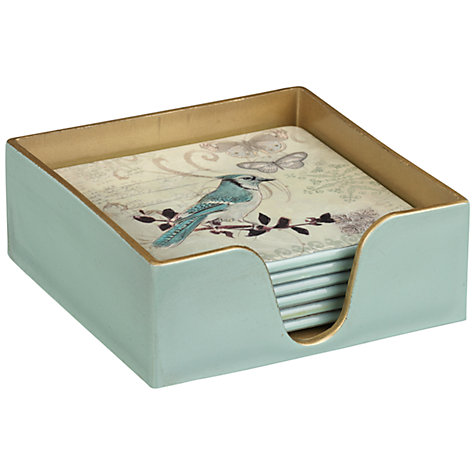 Buy Brissi Bird Coasters, Set of 6 Online at johnlewis.com