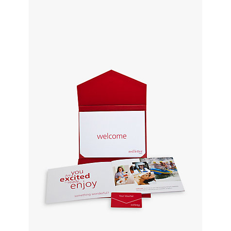 Buy Red Letter Days Dinner And Theatre For 2 Online at johnlewis.com