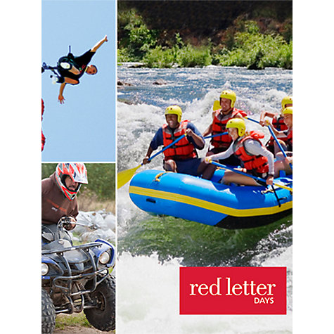 Buy Red Letter Days Perfect Thrill Seekers for 1- 3 People Online at johnlewis.com