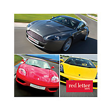 Buy Red Letter Days Supercar Driving Online at johnlewis.com