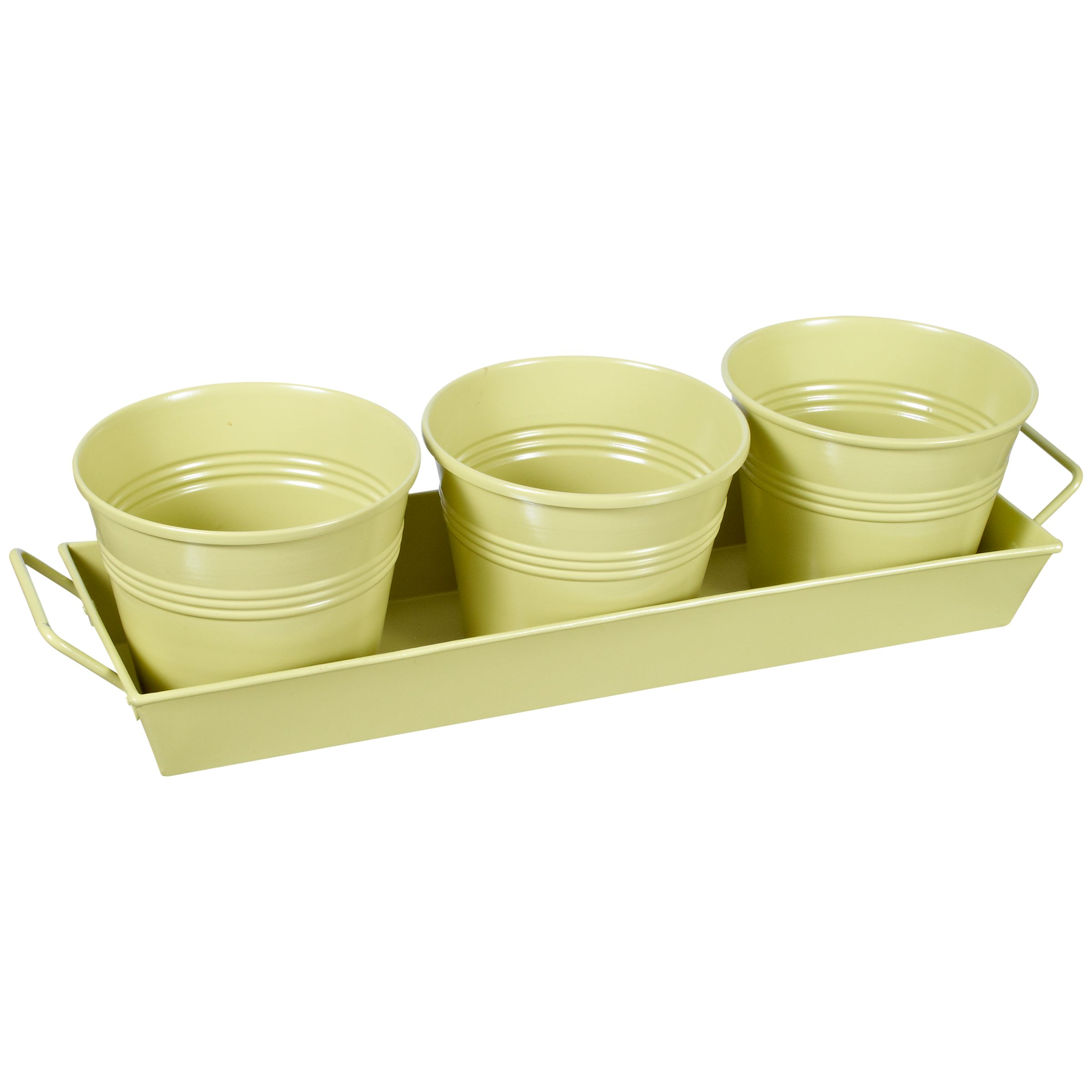 John Lewis Margery Plant Pots and Tray