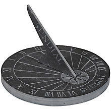 Buy Slate Sundial Online at johnlewis.com