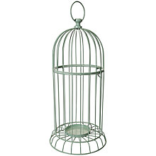 Buy John Lewis Botanical Bird Cage, Green Online at johnlewis.com