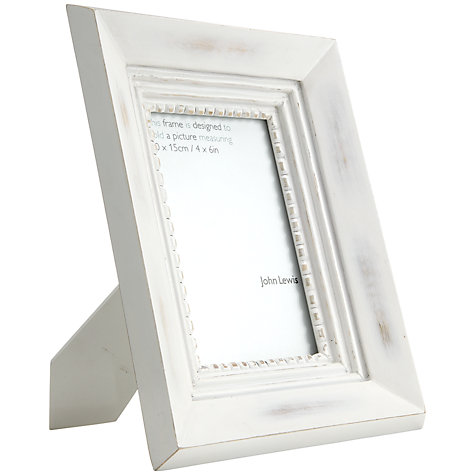 "Buy John Lewis Beaded Photo Frame, 4 x 6"" (15 x 10cm) Online at johnlewis.com"