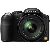 "Panasonic Lumix DMC-FZ200 Bridge Camera, HD 1080p, 12.1MP, 24x Optical Zoom, 3"" LCD Flip Screen, Black"