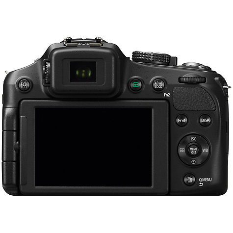 "Buy Panasonic Lumix DMC-FZ200 Bridge Camera, HD 1080p, 12.1MP, 24x Optical Zoom, 3"" LCD Flip Screen, Black Online at johnlewis.com"