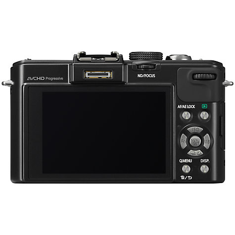 "Buy Panasonic Lumix DMC-LX7 Camera, HD 1080p, 10.1MP, 3.8x Optical Zoom, 3"" LCD Screen, Black Online at johnlewis.com"
