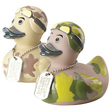 Buy Opal Corpoal Cluck Bath Duck, Assorted Online at johnlewis.com