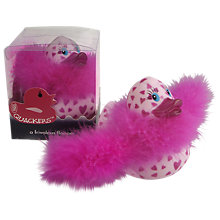 Buy Opal Feathered Darling Bath Duck, Pink Online at johnlewis.com