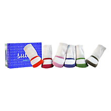 Buy Trumpette Mary Jane Socks, Pack of 6, Multi Online at johnlewis.com