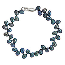 Buy A B Davis Laurel Pearl Bracelet Online at johnlewis.com