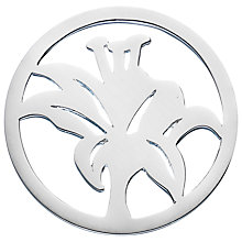Buy Daisy Sterling Silver Flower Pendant Coin, Silver Online at johnlewis.com