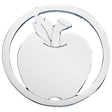 Buy Daisy Sterling Apple Pendant Coin, Silver Online at johnlewis.com