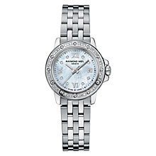 Buy Raymond Weil 5399-STS-00995 Tango Women's Diamond Set Bracelet Watch Online at johnlewis.com