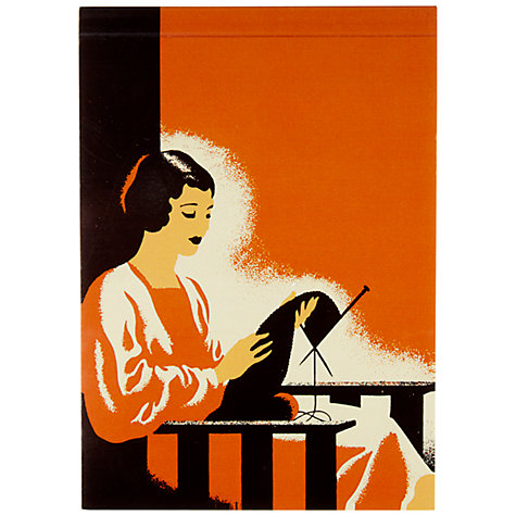 Buy Vintage by Hemingway Rita Notepad, A6 Online at johnlewis.com