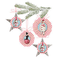 Buy Tilda Christmas Decorations Kit, Red Spots Online at johnlewis.com