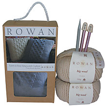 Buy Rowan Honeycomb Cushion Kit, Linen 048 Online at johnlewis.com