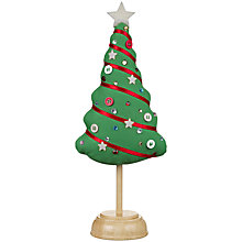 Buy John Lewis Christmas Pin Cushion, Tree Online at johnlewis.com