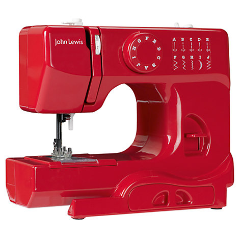 Buy John Lewis JL110 Colour Block Sewing Machine Online at johnlewis.com