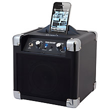 Buy ION Road Rocker Wireless Speaker System/iPod Dock/Amplifier, Black Online at johnlewis.com