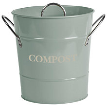 Buy Garden Trading Compost Bucket, Shutter Blue Online at johnlewis.com