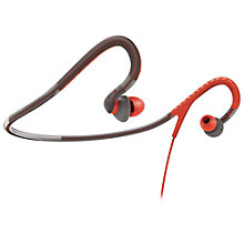 Buy Philips SHQ4200/10 In-Ear Neckband Headphones, Red/Grey Online at johnlewis.com