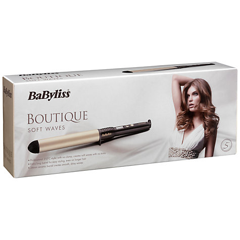 Buy BaByliss 2307BU Boutique Soft Waves Hair Styler Online at johnlewis.com