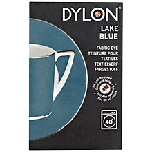 Buy Dylon Washing Machine Dye with Salt, Lake Blue, 350g Online at johnlewis.com