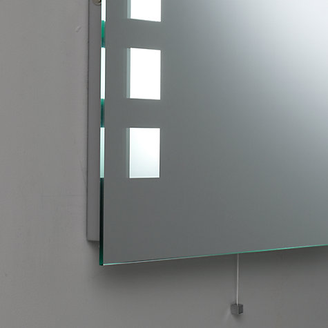 Buy John Lewis Cuba Illuminated Bathroom Mirror Online at johnlewis.com