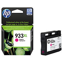 Buy HP 933XL Ink Cartridge, Magenta, CN055AE Online at johnlewis.com