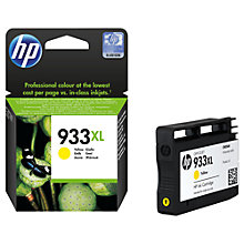 Buy HP 933XL Ink Cartridge, Yellow, CN056AE Online at johnlewis.com