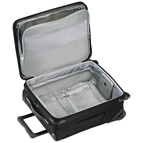 Buy Briggs & Riley Baseline Commuter 2-Wheel 48.3cm Cabin Suitcase, Black Online at johnlewis.com