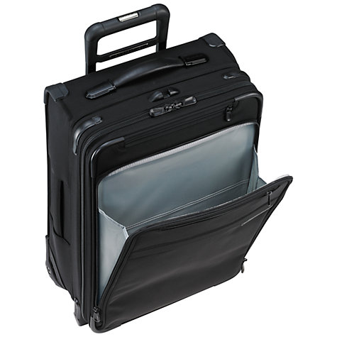Buy Briggs & Riley Baseline Carry-On Expandable 2-Wheel 53.3cm Cabin Suitcase Online at johnlewis.com