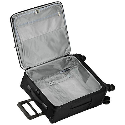 Buy Briggs & Riley Baseline Carry-On 4-Wheel 53.3cm Cabin Suitcase, Black Online at johnlewis.com