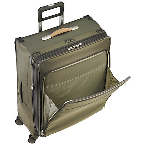 Buy Briggs & Riley Baseline Carry-On 4-Wheel 53.3cm Cabin Suitcase Online at johnlewis.com