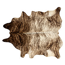 Buy John Lewis Cow Hide, Dark Natural, One Size Online at johnlewis.com