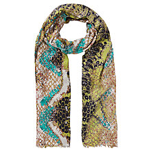 Buy COLLECTION by John Lewis Snake Print Scarf, Multi Online at johnlewis.com
