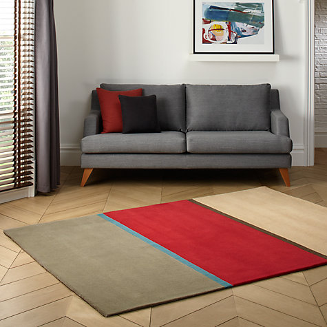Buy Christopher Farr for John Lewis Tri Colour Rug, L240 x W170cm Online at johnlewis.com