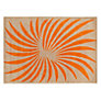 Buy Christopher Farr for John Lewis Aperture Rug, Orange Online at johnlewis.com