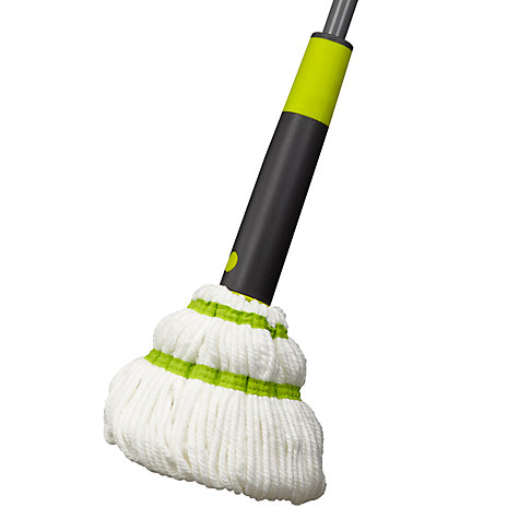 Buy John Lewis Ingenious Microfibre Twist Mop Online at johnlewis.com