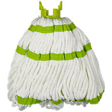 Buy John Lewis Ingenious Microfibre Twist Mop Refill Online at johnlewis.com
