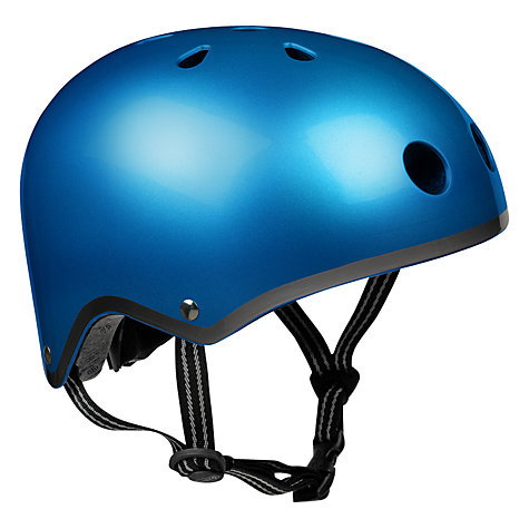Buy Micro Scooters Safety Helmet, Small, Metallic Blue Online at johnlewis.com
