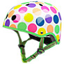 Micro Scooters Safety Helmet, Neon Dots, Small