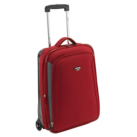 Buy Antler Duolite Expandable 2-Wheel Cabin Suitcase, Red Online at johnlewis.com