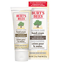 Buy Burt's Bees Ultimate Care Hand Cream, 50g Online at johnlewis.com
