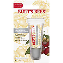 Buy Burt's Bees Ultra Moist Lip Treatment, 7g Online at johnlewis.com